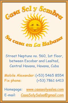 Business Card Casa Sol y Sombra