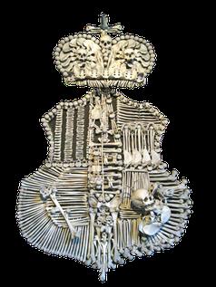 Wappen des Adelsgeschlechtes der Fürsten v. Schwarzenberger und Orlik