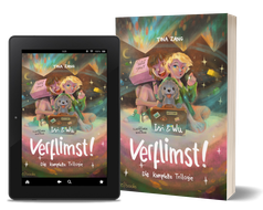 Cover: Der geheime Koffer, Band 1: Total verflimst. Kinderbuchreihe von Tina Zang