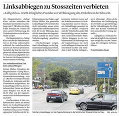 Solothurner Zeitung vom 23. Oktober 2020