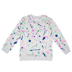 Freh Kinder-Pullover Sweatshirt Splash handmade Bio-Baumwolle - zuckerfrei | Kids Concept Store