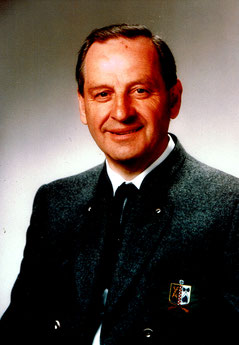 Walter Dürl - Schützenmeister1956 - 1976