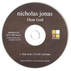 nicholas jonas dear god single promo ino records rare