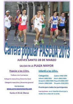 Carrera Pascua 2013 Cacabelos