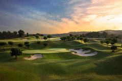Las Colinas Golf & Country Club 37 km van Villa Casa del Lago