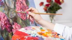 高齢者向けレクリエーション、アクテビティ:芸術