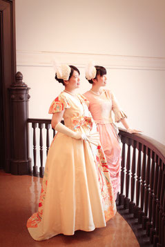 ドレス着用・撮影体験ご参加のお客様