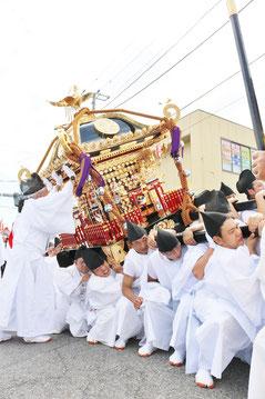 田間神社 神幸祭