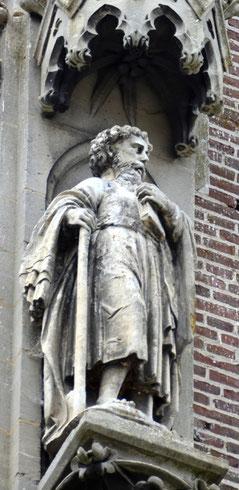 Saint à identifier peut-être saint Antoine