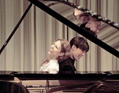 Weinreich und Nakaishi am Klavier // Hier erfährst du alles über die Entstehung von unserem Klavierduo // The history of our Piano-Duo