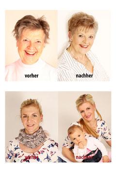 vorher-nachher Fotoshooting von Lena Angelstein Fotograf Leipzig