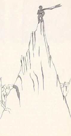 Der Berg der Erinnerungen Exupéry Der kleine Prinz