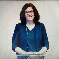 Screenshot des Livestreams in der FCG Straßwalchen (Foto von V.K.)