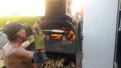 Flammkuchen bei Fam. Götz