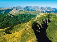 vue sur le plomb du Cantal
