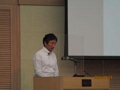 静岡大学 防災総合センター岩田特任教授に想像力の欠如に陥らない防災の講演をして頂きました。
