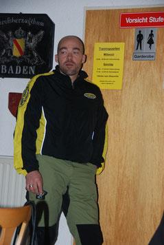 Der Referent: ChristianHartmann, Lehrhelfer der LG Baden