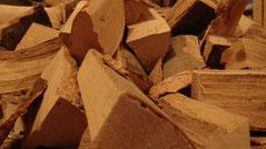 Holz aus dem Sack