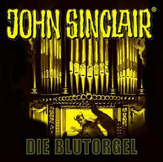 CD Cover John Sinclair Die Blutorgel