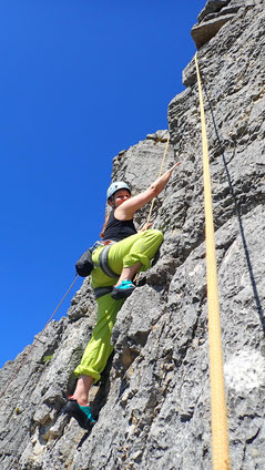 2020/05: Klettern in La Rochette (CH/BE)