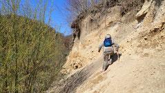 Umgehung im steilen Gelände erfolgreich gemeistert :-)