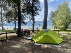 Auf dem VD8 Camping.