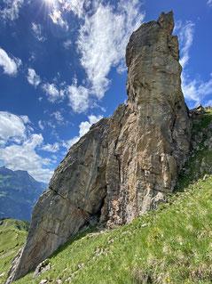 2020/07: Klettern am Bettlerstock (CH/OW)