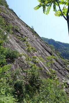 Die grosse Platte am Monte Garzo (unterer Teil)