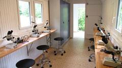 So sieht das Naturerlebnis-Labor innen aus