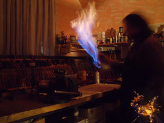 Andreas Kieser  in der Werkstatt