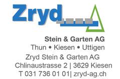 Zryd Stein und Garten Kiesen