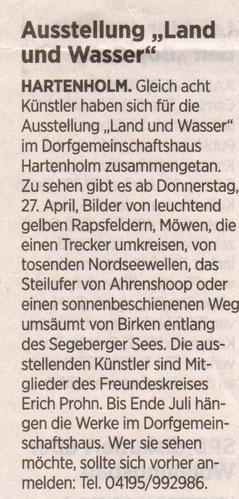 Segeberger Zeitung Mai 2017