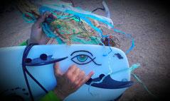 COUP, Lanzarote, JOY, Surfboards,  Microplastic, #Famara, Beach