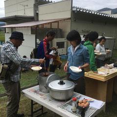 丹波野菜たっぷりのカレーランチ
