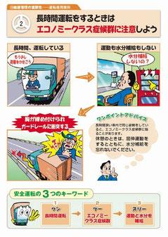 点呼時の安全運転指導