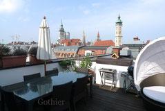 Dachterrassenwohnung  München Altstadt