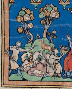 Maciejowski-Bibel: Folio 4r