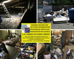 Débarras - Nettoyage entrepôt - Haute Garonne