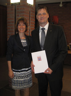 Gratulantin Heike Hofmann, Landtagsabgeordnete