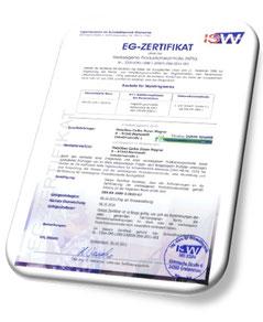 Download >> EG Zertifikat