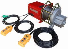 ハイスピード高速ウインチUP711ZA 荷揚げ機用電動ウインチ
