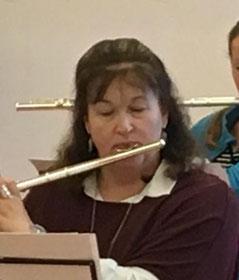 Claudia Raetsch im Musikzug-Vorstand