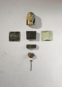Ikone, 1987, Bronze, 7-teilig, 4/5 Exemplare, 124 x 88 x 24 cm