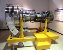 ●飛鳥に搭載された、ターボファンエンジン