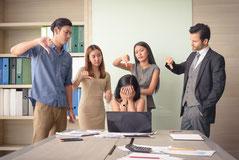 Konflikte im Beruf oder im Privatleben