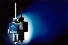 Axial Bohr- und Fräskopf