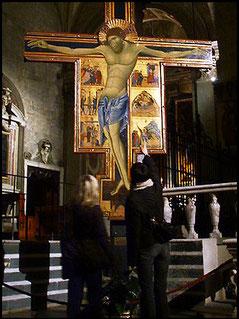 Crucifix of the great Coppo di Marcovaldo