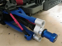15mm Spurverbreiterung für Traxxas E-Revo VXL 1:16