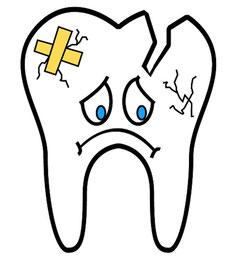 kaputter zahn