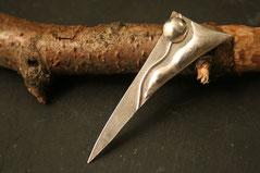 Brosche aus Silber mit individueller Belötung